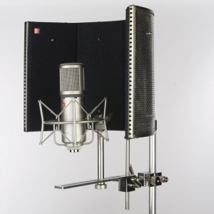 Figure 4.39 Acoustic baffle for a microphone stand