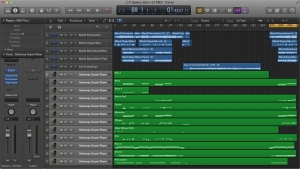 Figure 1.49 Logic Pro workspace