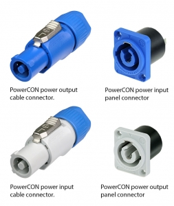Figure 1.40 PowerCON connectors