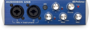 Figure 1.3 Presonus AudoBox USB audio interface