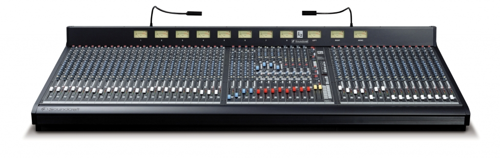 Figure 1.43 Soundcraft K2 Analog mixing console