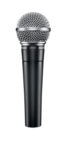 Figure 1.10 Shure SM58 dynamic microphone